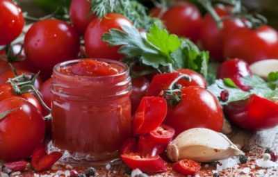 Домашний кетчуп – это полезно и совсем несложно