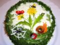 Печеночный торт «Краски лета»