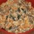 Салат с сердцем и плавленным сыром
