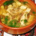 Суп с белыми грибами и картофельными галушками