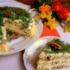 Закусочный бисквитный грибной торт