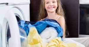Выбираем безопасный стиральный порошок для детских вещей