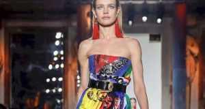 Неделя моды в Милане: Наталья Водянова, Джиджи Хадид, Кайя Гербер на показе Versace