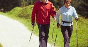 Скандинавская ходьба с палками - в чем польза?