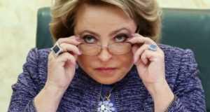 Матвиенко обвинила граждан России в непонимании пенсионной реформы?