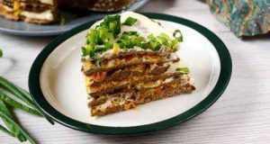 Классический печёночный торт: пошаговый фото-рецепт