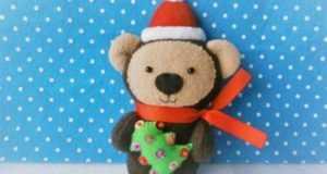 Новогодний медвежонок: сувенир или елочная игрушка